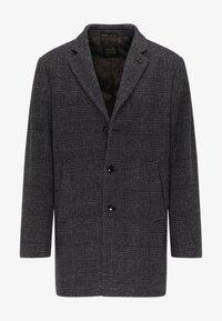 Classic coat - blau/beige