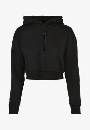 Mikina skapucí - black