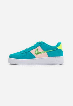 AIR FORCE LV8 FRESH AIR - Trainers - oracle aqua/ghost green/washed coral/white