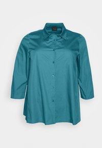 Persona by Marina Rinaldi - BALSA - Button-down blouse - turquoise - 4