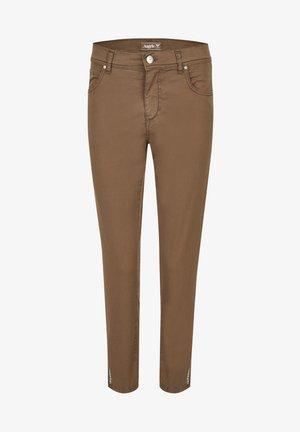 ORNELLA DECOR - Slim fit jeans - dunkelbraun