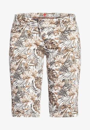 Shorts - tropical brown