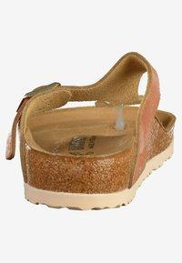 Birkenstock - GIZEH - T-bar sandals - brown/copper/orange - 3