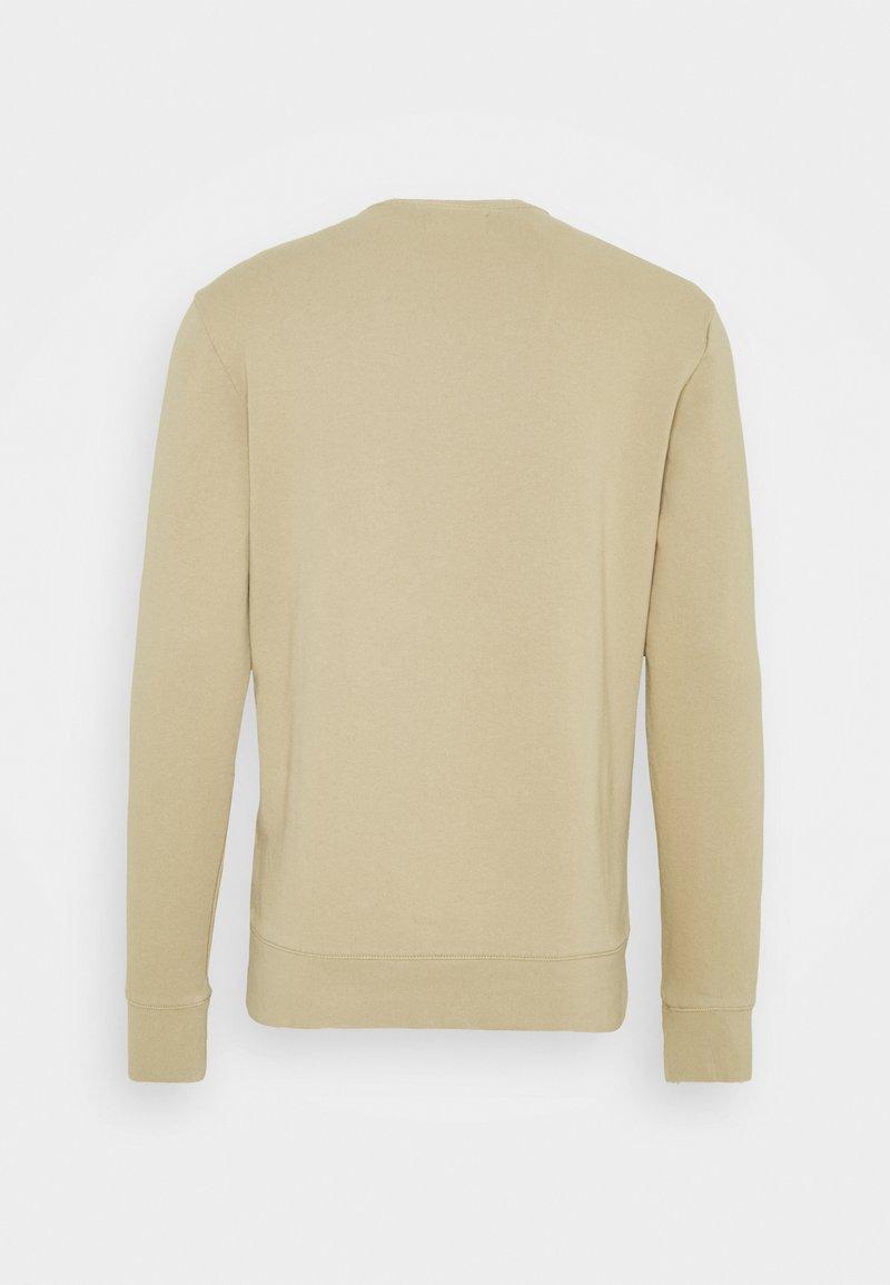 Club Monaco PIGMENT DYED TERRY CREW - Sweatshirt - kareel tan/tan zlXpTv