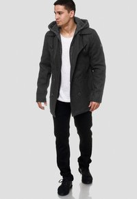 INDICODE JEANS - Short coat - anthracite - 1
