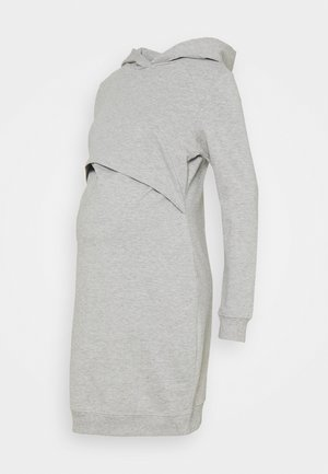 Korte jurk - light grey