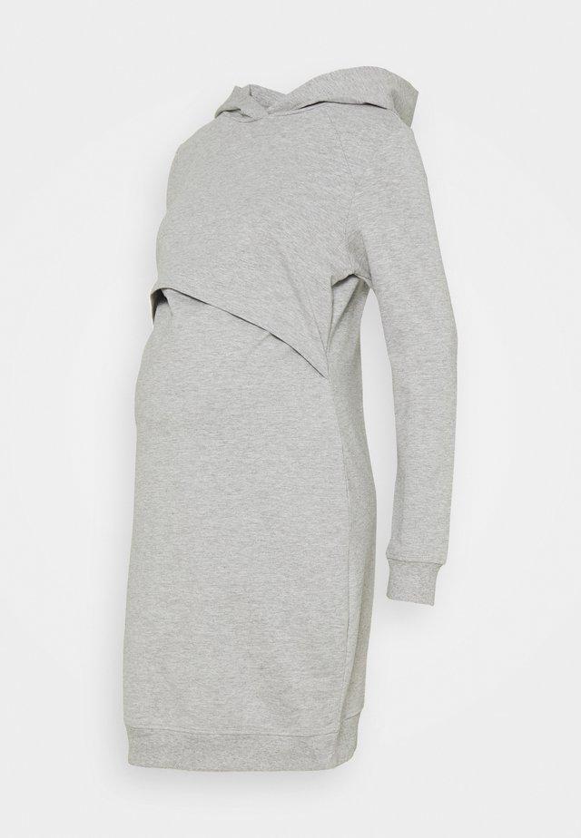 NURSING - Day Dress - Vapaa-ajan mekko - light grey