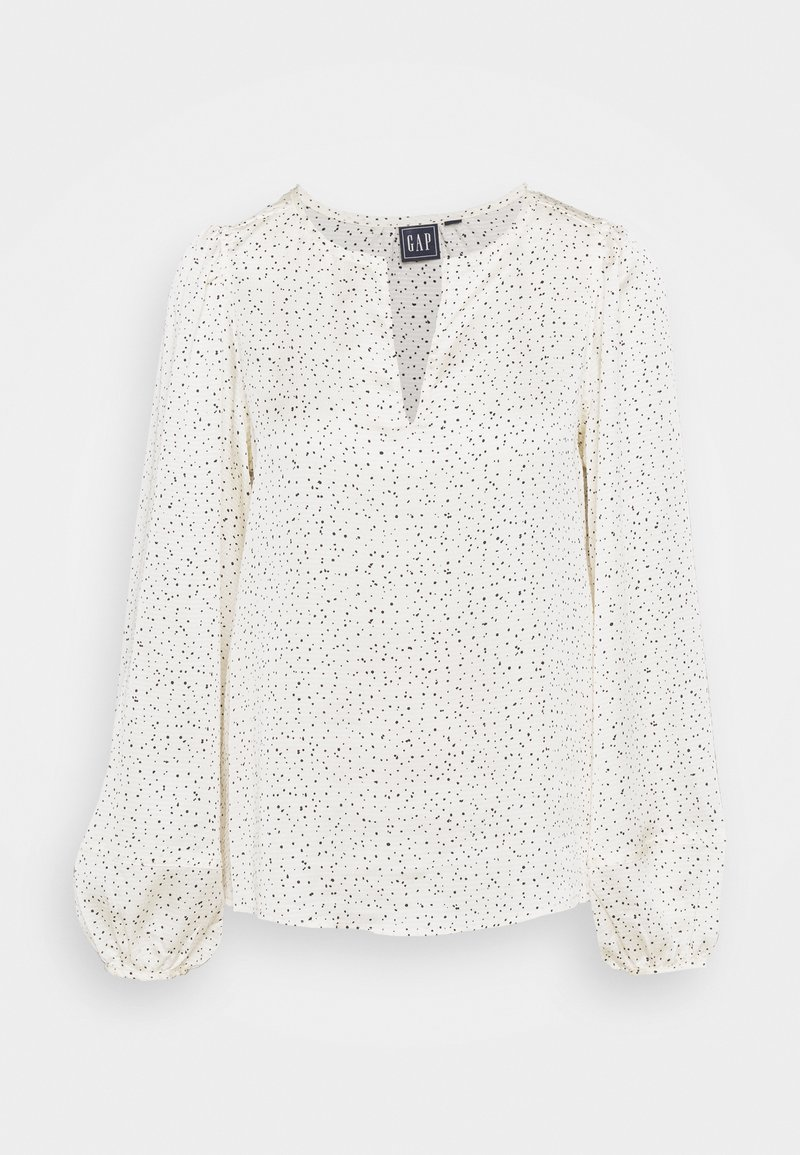GAP - SPLIT BLOUSON - Blouse - white