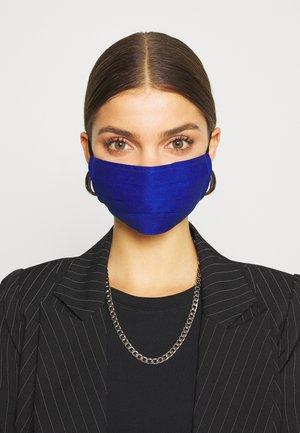 3 PACK - Látková maska - blue/dark blue