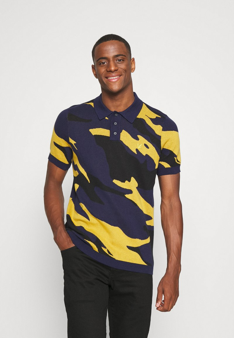 Lyle & Scott - ABSTRACT  - Polo shirt - navy