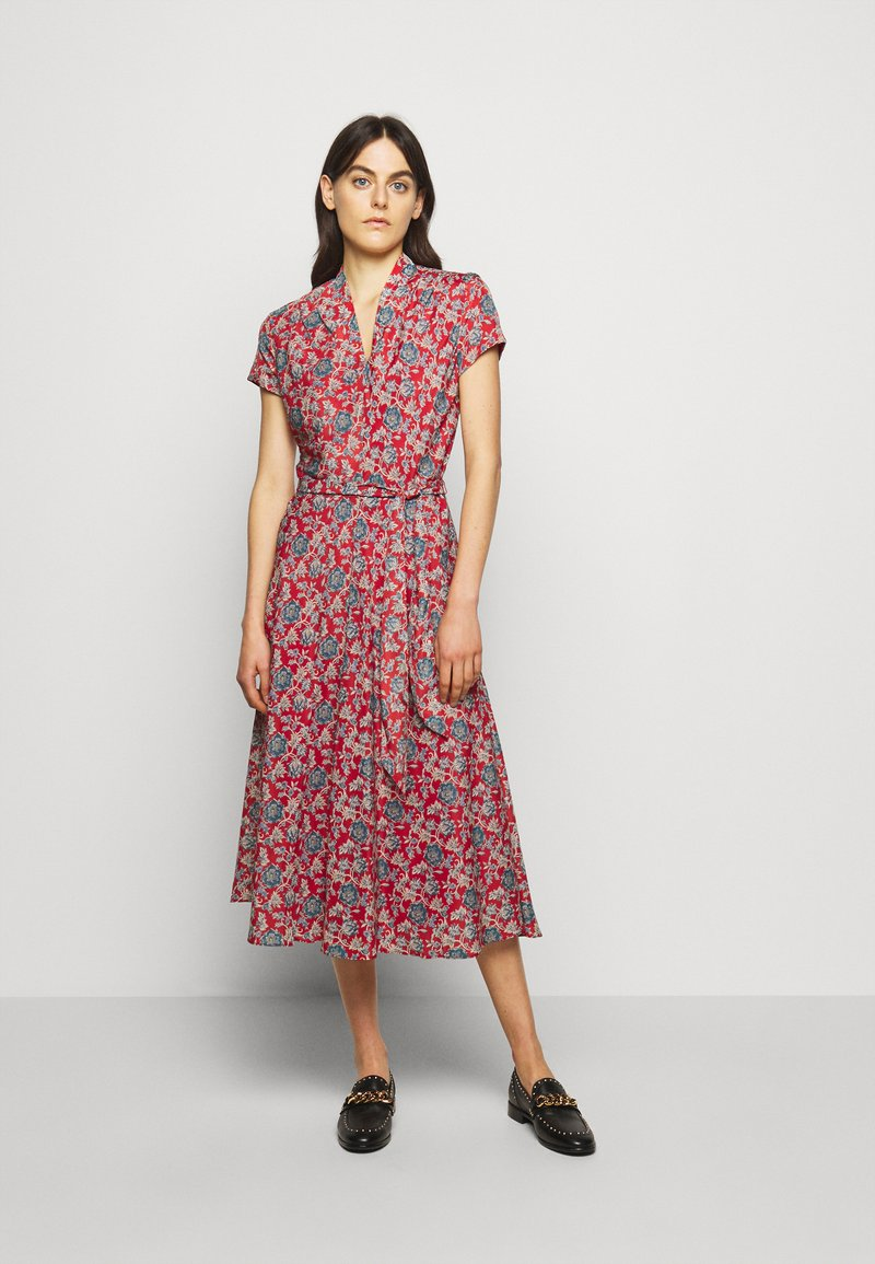Lauren Ralph Lauren - DRESS - Denní šaty - red multi