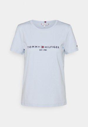 REGULAR TEE - T-shirt z nadrukiem - blue