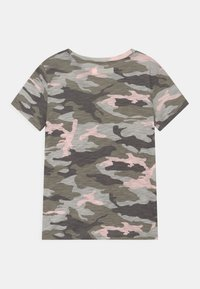 Abercrombie & Fitch - TIE FRONT - Print T-shirt - green - 1