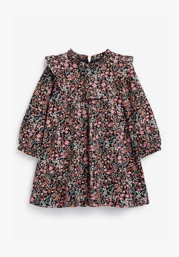 FLORAL FRILL - Day dress - blue