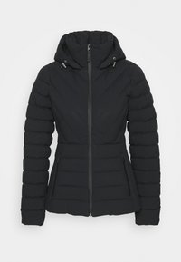 Abercrombie & Fitch - PUFFER - Down jacket - black - 3