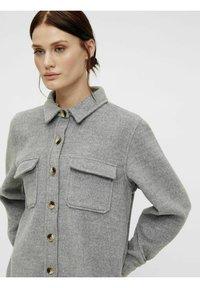 Object - OBJVERA - Summer jacket - medium grey melange - 3