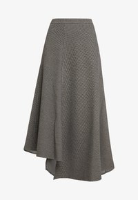 Apart - GLENCHECK SKIRT - Maxi skirt - cream/taupe - 5