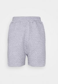 Missguided - QUILTED - Tracksuit bottoms - grey - 0
