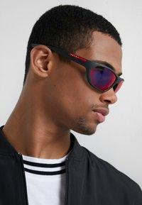 Prada Linea Rossa - Sunglasses - black/blue/red - 1