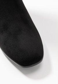 Tamaris - BOOTS - Høye støvler - black - 2