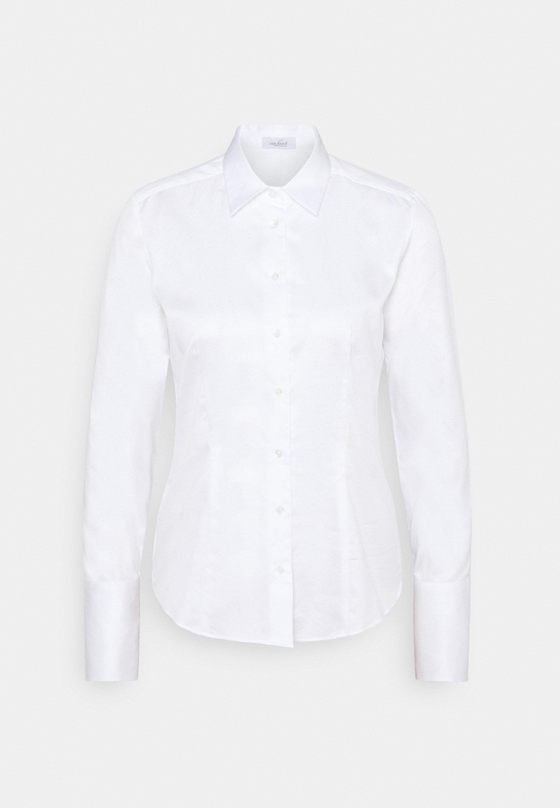 Women GINNY - Button-down blouse - weiß