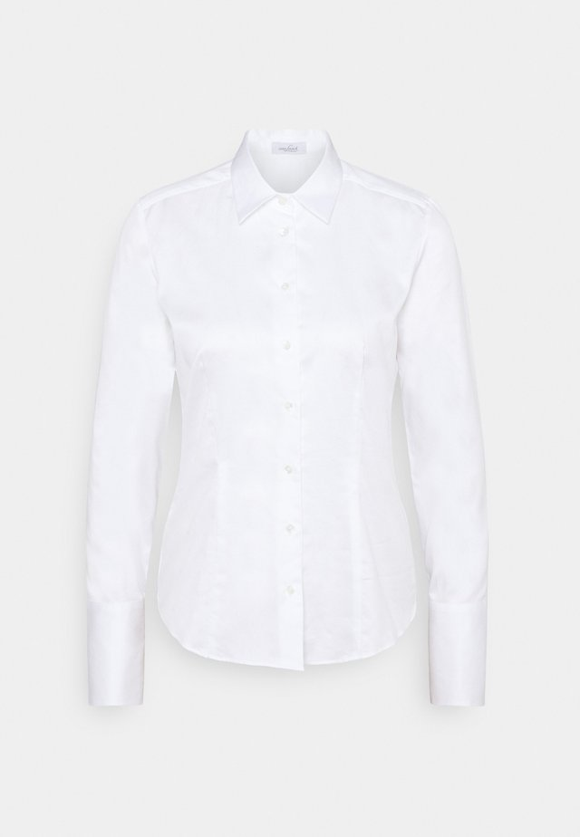 GINNY - Button-down blouse - weiß