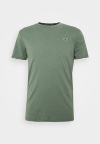 Hollister Co. - T-shirt z nadrukiem - olive - 0