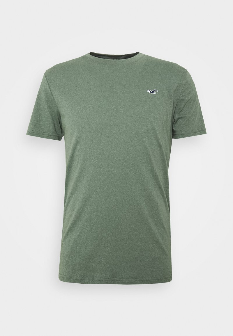 Hollister Co. - T-shirt z nadrukiem - olive