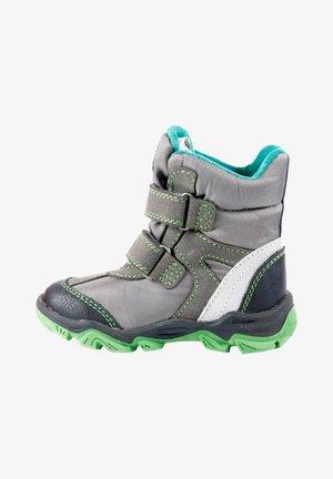 MIT KLETTVERSCHLUSS - Winter boots - titan