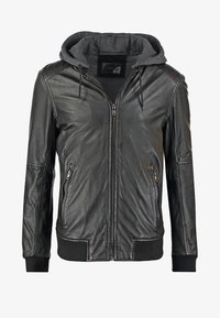 Oakwood - JIMMY - Leather jacket - noir - 6