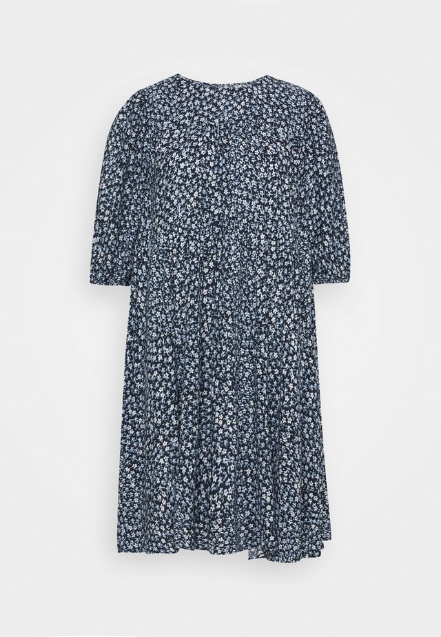 ENSALVATION DRESS - Robe d'été - dark blue