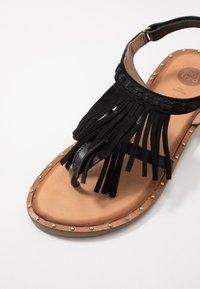 Gioseppo - SAVONA - T-bar sandals - black - 2