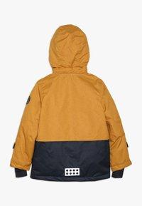 LEGO Wear - JORDAN JACKET - Skidjacka - yellow - 1