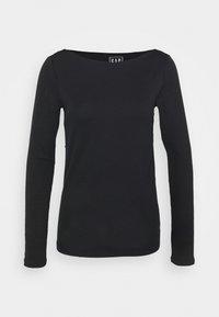 BATEAU - Long sleeved top - true black