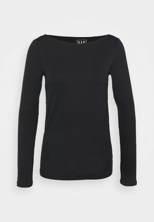 BATEAU - Long sleeved top - true black