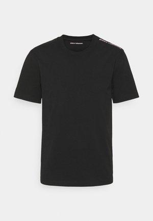TEE UNISEX - Print T-shirt - black/pink
