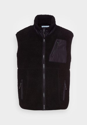 VEST - Waistcoat - black/black