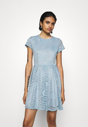 AVERI SKATER DRESS - Sukienka koktajlowa - dusty blue grey
