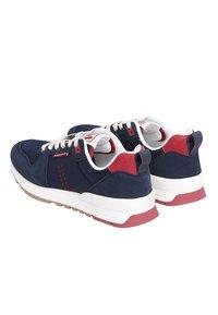 M. Moustache - DANIEL - Sneakers laag - navy blue red - 3