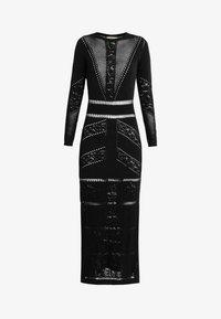 TWINSET - ABITO LUNGO IN SEAMLESS - Maxi dress - nero - 3