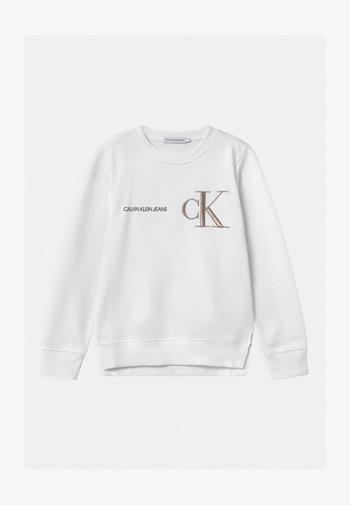 RAISED MONOGRAM - Sweater - white