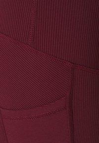 Cotton On Body - MATERNITY POCKET 7/8 - Punčochy - mulberry rib - 2