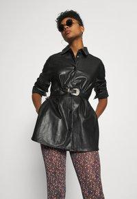 YAS - YASMILANA  - Leggings - Trousers - black - 3