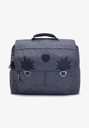 INIKO - School bag - triangle blue