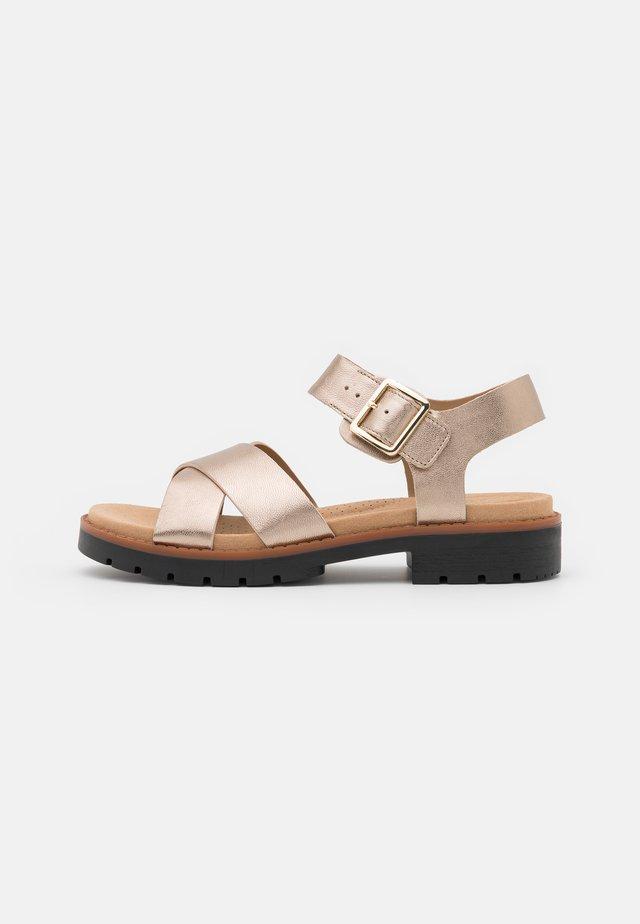 ORINOCO STRAP - Sandals - metallic