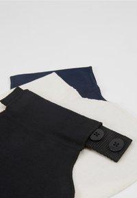 Carriwell - FLEXIBELT WAIST EXPANDER - Andet - black/dark blue/white - 8