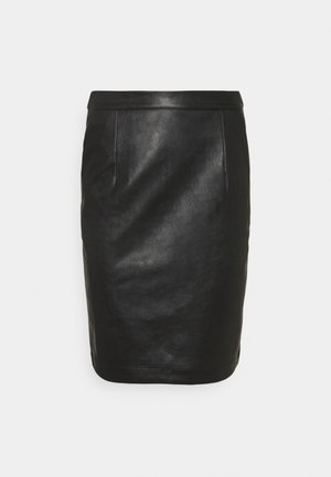 MARIE - Pencil skirt - black