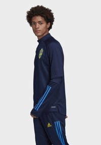 adidas Performance - SWEDEN SVFF TRAINING SHIRT - Koszulka reprezentacji - blue - 2