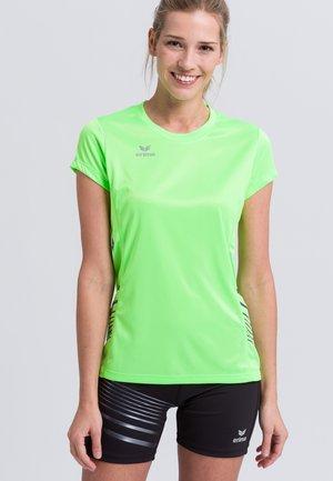 RACE LINE - Print T-shirt - grün