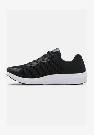 UA CHARGED PURSUIT 2 BL - Sneakers laag - black